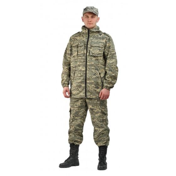 """Костюм мужской """"Турист 2"""" летний, камуфляж Твилл Пич """"Серый легион"""""""
