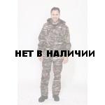 Костюм мужской Филин демисезонный, камуфляж, ткань Полофлис Дубовый лес