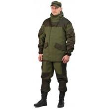 Костюм мужской Горка 3-ТИР палатка хаки 100% хлопок