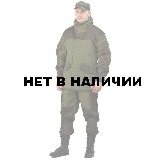 Костюм мужской Горка 3-Тир летний палатка 235 г/м2 хаки 100% хлопок