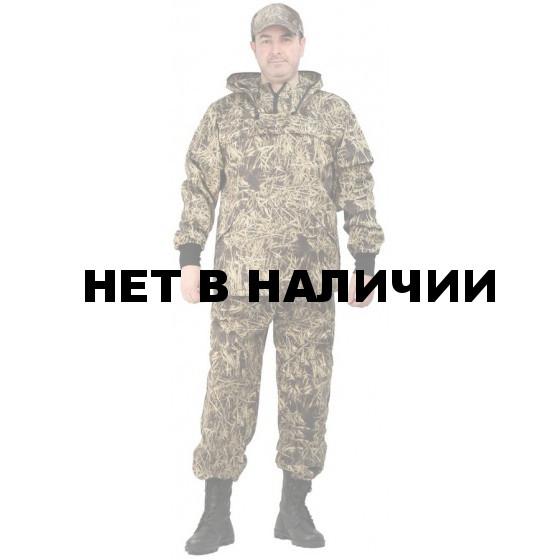 Костюм противоэнцефалитный летний, ткань грета, камуфляж Солома