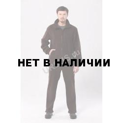 Флисовый мужской костюм Gerkon Picnic цвет Коричневый