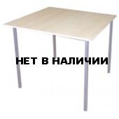 Стол обеденный на м/к, крышка ЛДСП
