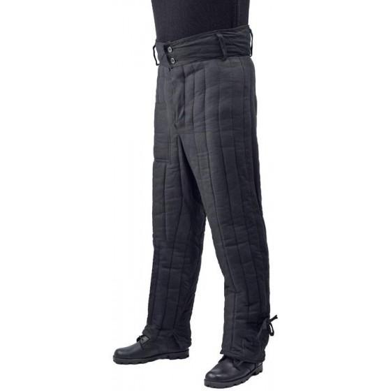 Брюки мужские ватные черные