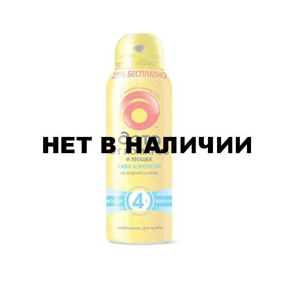 ДЭТА АКВА Аэрозоль от комаров 125мл./18