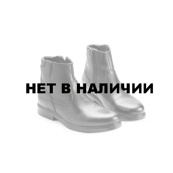 Ботинки кожаные офицерские демисезонные. мод. 58ТУ