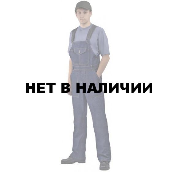 Полукомбинезон джинсовый мужской