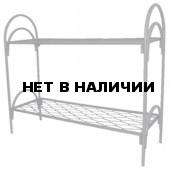 Кровать двухъярусная металлическая пружина