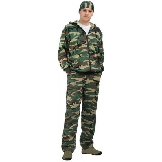 """Костюм трикотажный """"ТИР"""", камуфляж куртка + брюки 100%х/б"""