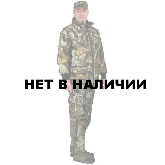 """Костюм мужской """"Тройка"""" демисезонный, камуфляж т.Алова """"Темный дуб"""""""