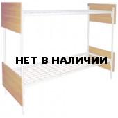 Кровать двухярусная с ЛДСП спинками (700 х 1900)
