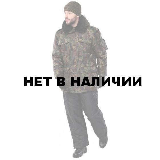 Куртка мужская Охрана зимняя, камуфляж нато