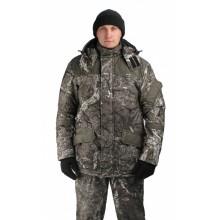 Костюм мужской«Горка-Буран» зимний, камуфляж т.Алова мембрана