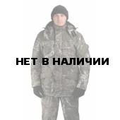 Костюм мужской«Горка-Буран» зимний, камуфляж, ткань Алова мембрана
