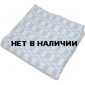 Одеяло 1,5-спальное (140 х 205), байковое, цветная клетка