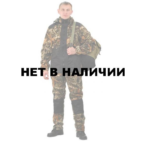 """Флисовый костюм """"Панда"""", камуфляж """"Тростник"""" с накладками,350г/м2"""