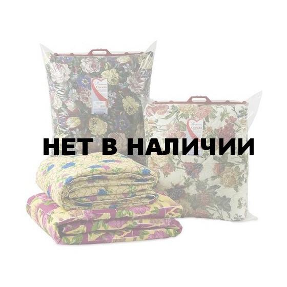 Одеяло 1,5-спальное (140 х 205), холлофайбер