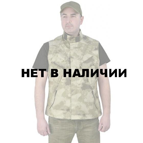 """Жилет мужской """"Gerkon Uranium"""" летний, камуфляж т.Смесовая """"Облако"""""""