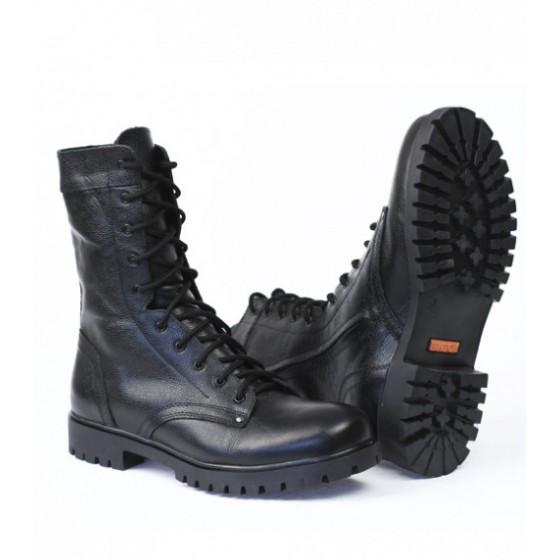2c54ee70 Ботинки с высоким берцем ТРЕК Bizon с молнией, на натуральном меху, кожа  хром. Флотер