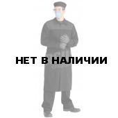 Халат мужской КЩС лавсановый черный