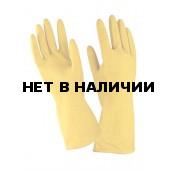 Перчатки хозяйственные латекс ворсовые (10пар/упак)