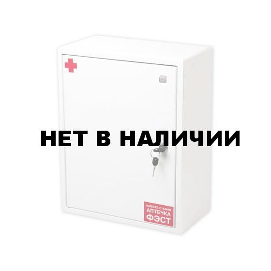 Аптечка коллективная на 100чел. ФЭСТ №3.3 шкаф металл