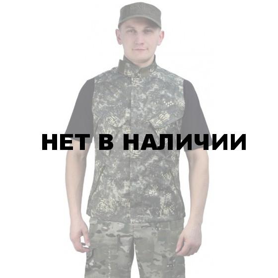 """Жилет мужской """"Gerkon Uranium-2"""" летний, камуфляж т.Смесовая """"Варан"""""""