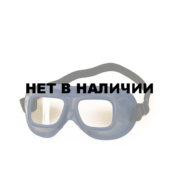 Очки закрытые н/в РОСОМЗ ЗН18 Driver Riko прозрачные (21810)