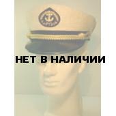 Капитанка 20-1 лён, бежевая, с регулировкой, шелк.шнур