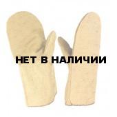 Рукавицы брезентовые (480г), наладонник брезент (480г)