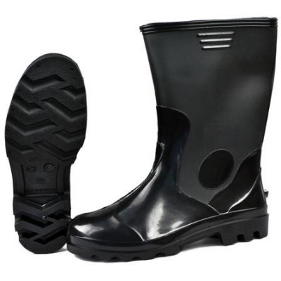 Сапоги ПВХ - Лайт МБС, КЩС мужские черные (в упаковке 5 пар)