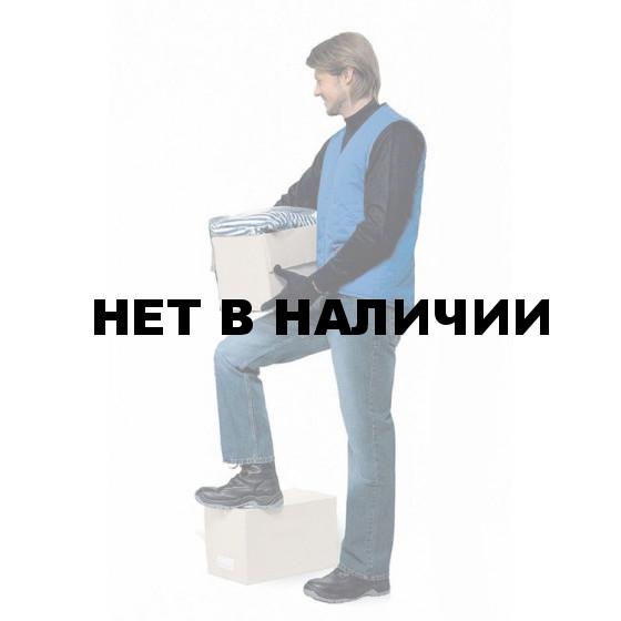 """Жилет """"Стажер"""" утепленный васильковый"""