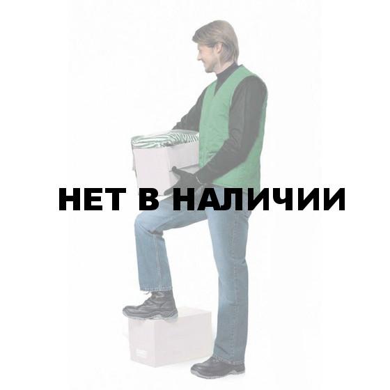 """Жилет """"Стажер"""" утепленный т-зеленый"""