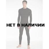 Термобельё в комплекте (фуфайка. кальсоны) EcoDry RealMan (чёрный.)