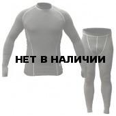 Термобельё в комплекте (фуфайка. кальсоны) Hobo Pro DryWarm (Стрейч-флис) чёрный.