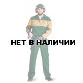 Костюм мужской Пегас темно-зеленый с бежевым