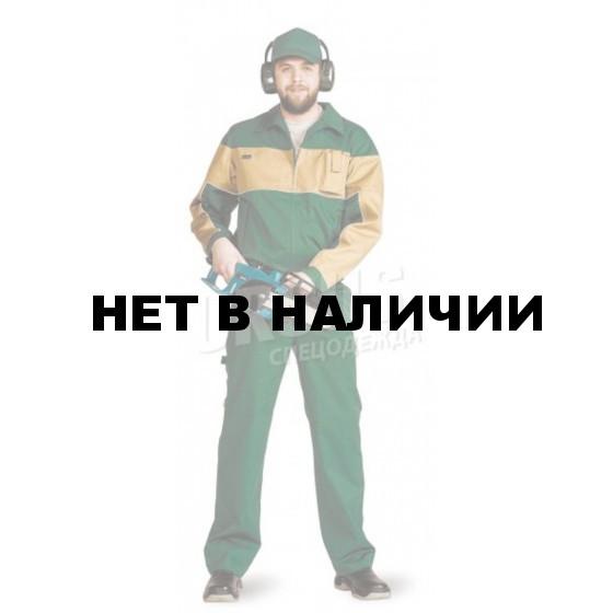 Костюм мужской Пегас т-зеленый с бежевым