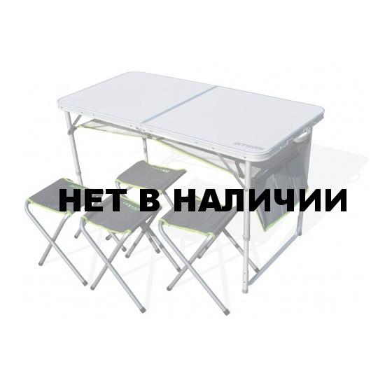 Набор мебели, стол туристический и 4 стула ATS-400 Atemi