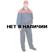 Костюм мужской Рейнир темно-синий с красным