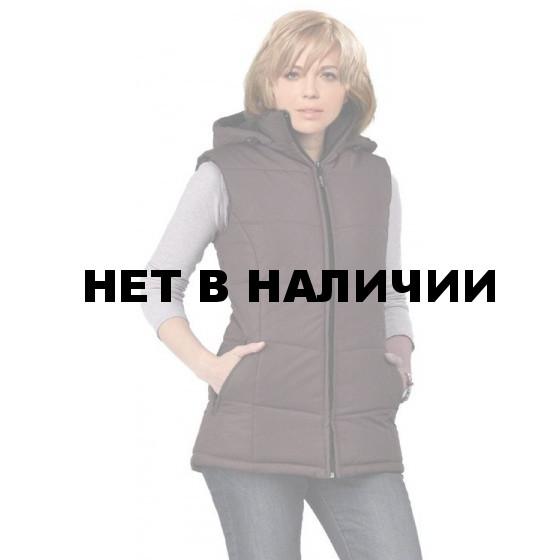 "Жилет женский ""Gerkon Delta"" утеплённый т.Дюспа ""Шоколад"""