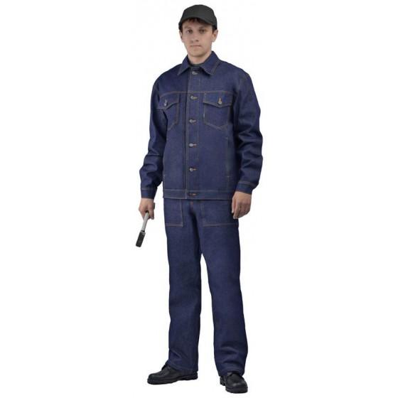 Костюм джинсовый (куртка/брюки)