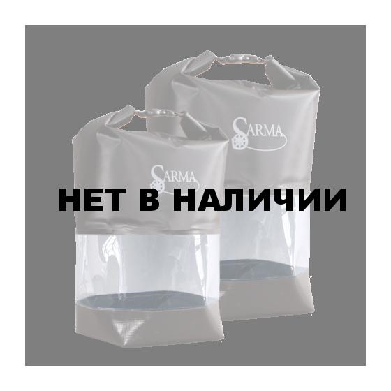 Баул водонепроницаемый Sarma с прозрачной вставкой С007-1(10л)