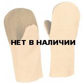 Рукавицы х/б (220г), наладонник брезент (480г)