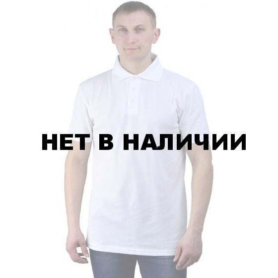 Рубашка-поло белая