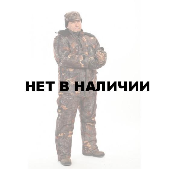 """Костюм мужской """"Охотник"""" зимний, камуфляж смесовая """"Дубовый лес"""""""