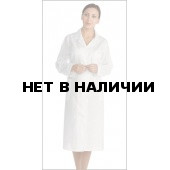 Халат женский бязевый белый