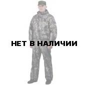 Костюм мужской Вихрь демисезонный, камуфляж таффета рип-стоп Смешанный лес