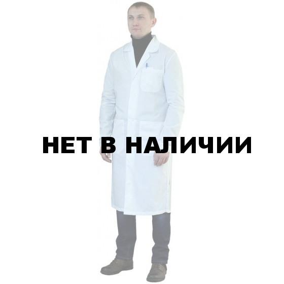 Халат мужской бязевый белый