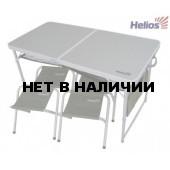 Набор мебели, стол + 4 табурета HS-TA-21407+HS-21124 Helios