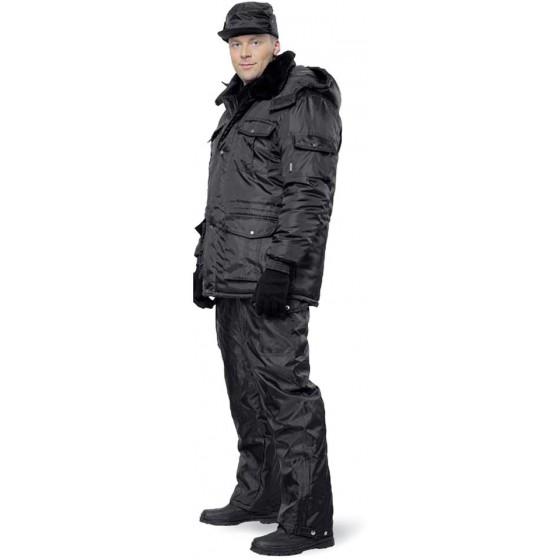 Куртка мужская Охрана зимняя черная